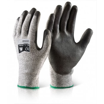 CUT LEVEL 5 GLOVES PU COATED