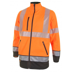 HIVIS TWO TONE SOFTSHELL