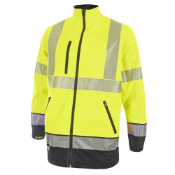 HIVIS TWO TONE SOFTSHELL...
