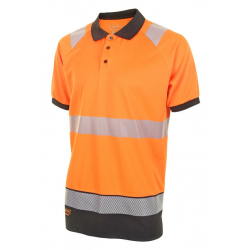 HIVIS TWO TONE POLO SHIRT...