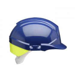 REFLEX SAFETY HELMET BLUE C/W