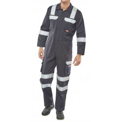 ARC FLASH COVERALL NAVY BLUE