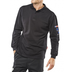 ARC FLASH POLO SHIRT NAVY BLUE