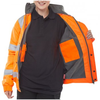 HIGH VISIBILITY FLEECE...
