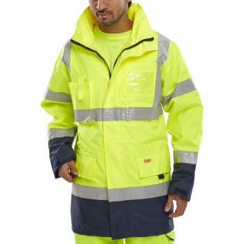 TWO TONE BREATHABLE TRAFFIC...